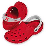 Husker Crocs