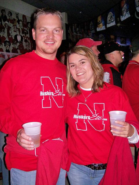 Husker Tshirts in Lincoln, Nebraska