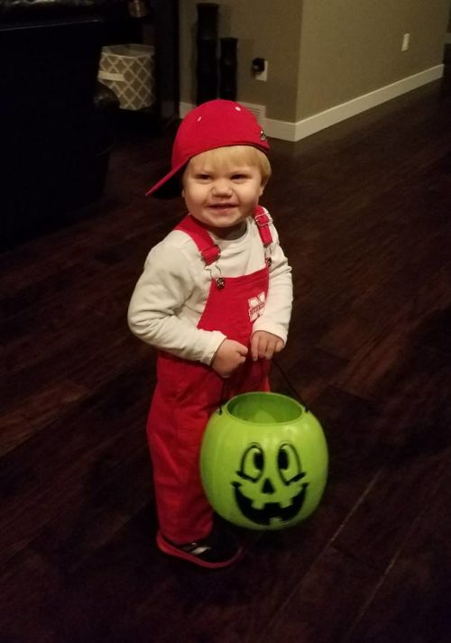 Lil' Red Huskers Toddler Costume