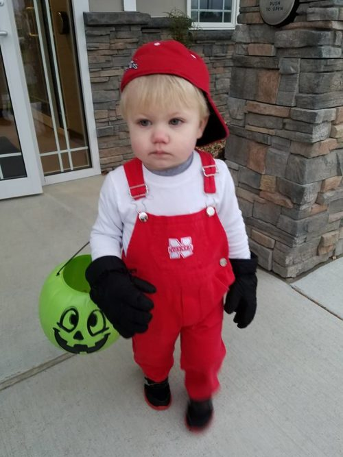 Lil' Red Halloween Costume for Kids