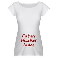 Future Husker Maternity Shirts