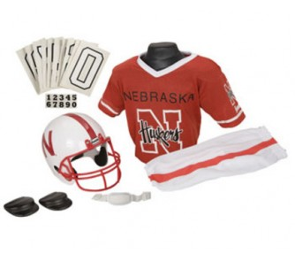 Nebraska Cornhuskers Football Uniform Costume Photo