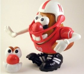Nebraska Cornhuskers Mr Potato Head