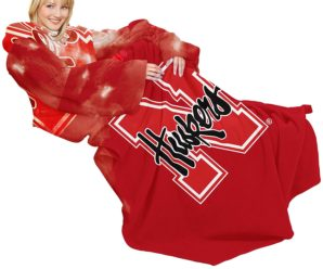 Nebraska Cornhuskers Collegiate Snuggies Blanket with Sleeves