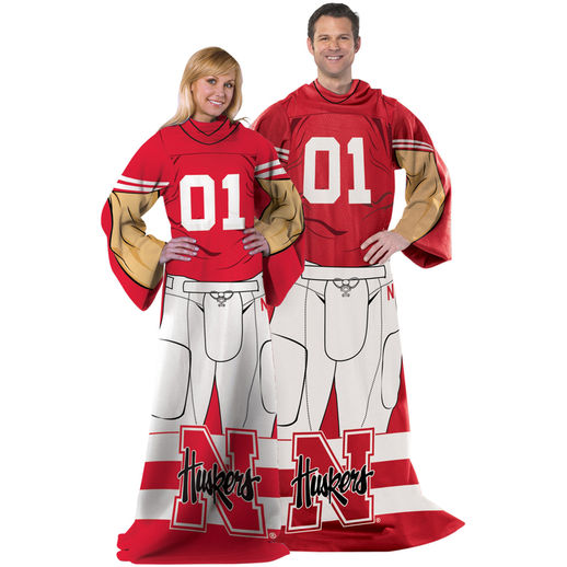 Nebraska Cornhuskers Unisex Player Comfy Throw - Scarlet In Stock