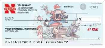 Husker Personal Checks