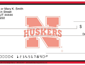 Nebraska Cornhusker Personal Bank Checks on Sale