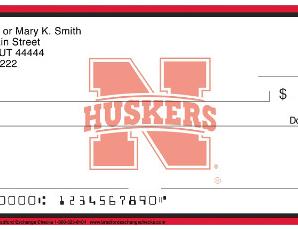 Nebraska Cornhusker Personal Checks