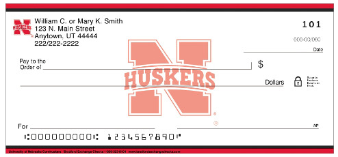 University of Nebraska Personal Checks