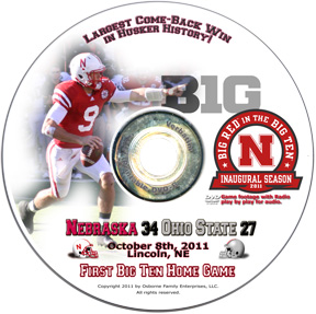Nebraska vs Ohio State DVD