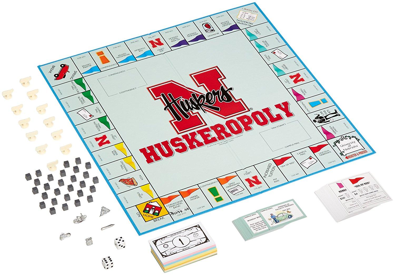 Huskeropoly Game (Nebraska Cornhuskers Monopoly Board Game)