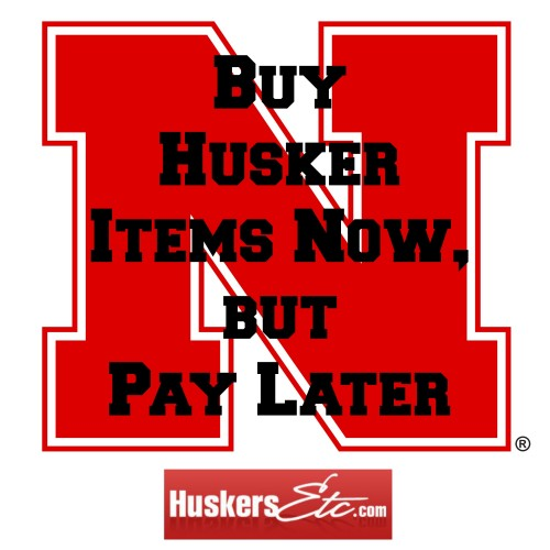 Buy Husker Stuff Now, Pay Later