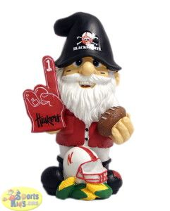 NEBRASKA HUSKERS THEMATIC GARDEN GNOME