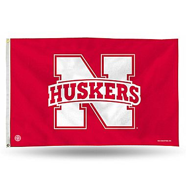 Nebraska Huskers Rico Industries NCAA Banner Flag